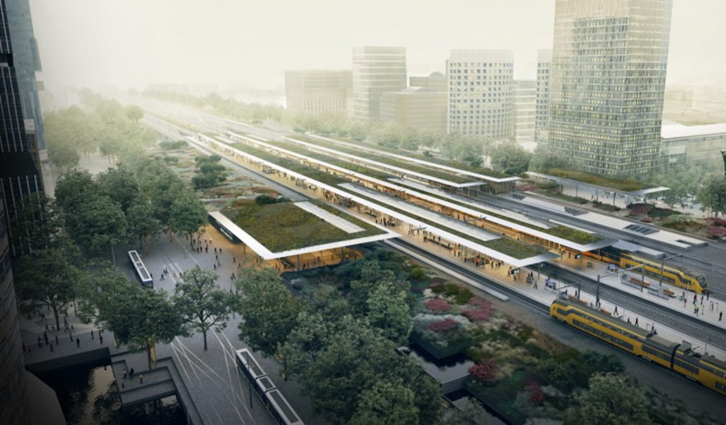 Team V Architectuur.Team V Is One Of The Architects Of Zuidasdok Amsterdam